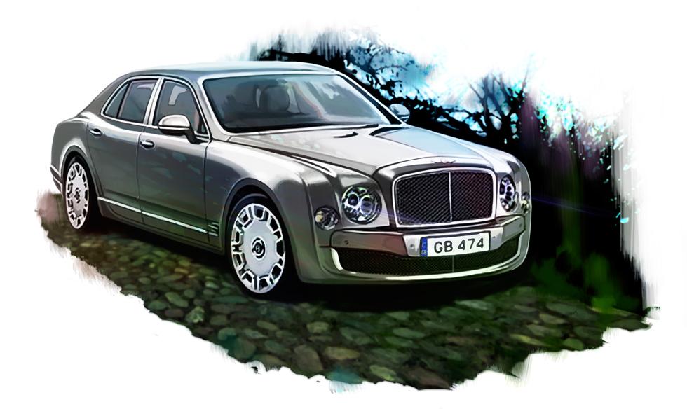 Bentley Mulsanne for Top Gear