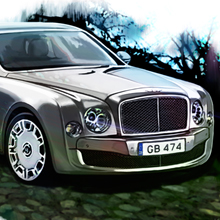 Bentley Mulsanne для Top Gear