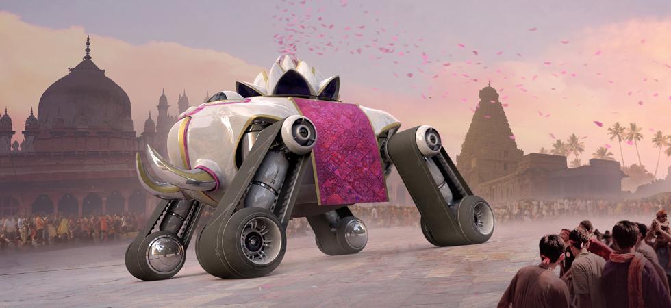 Автомобиль Махараджи для Top Gear