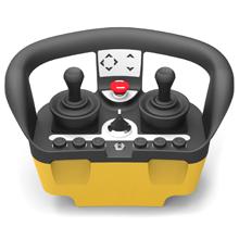 Crane remote control for RADUK