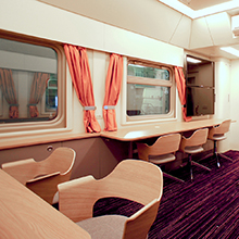 Russian Railways' laboratory train car was designed