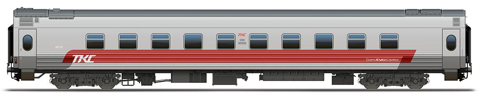 "Superior train car ""MIX"" for TCS"